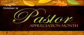 PastorAppreciation Month